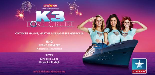 Boek nu je tickets voor de Cast Visit van K3 Love Cruise!