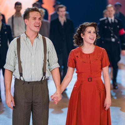 Laura Tesoro zet prachtige Sarah neer in spektakel-musical 40-45!