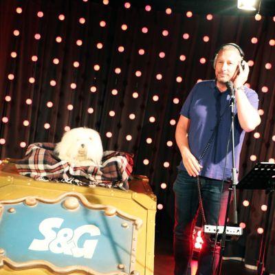 Samson & Gert live bij Qmusic