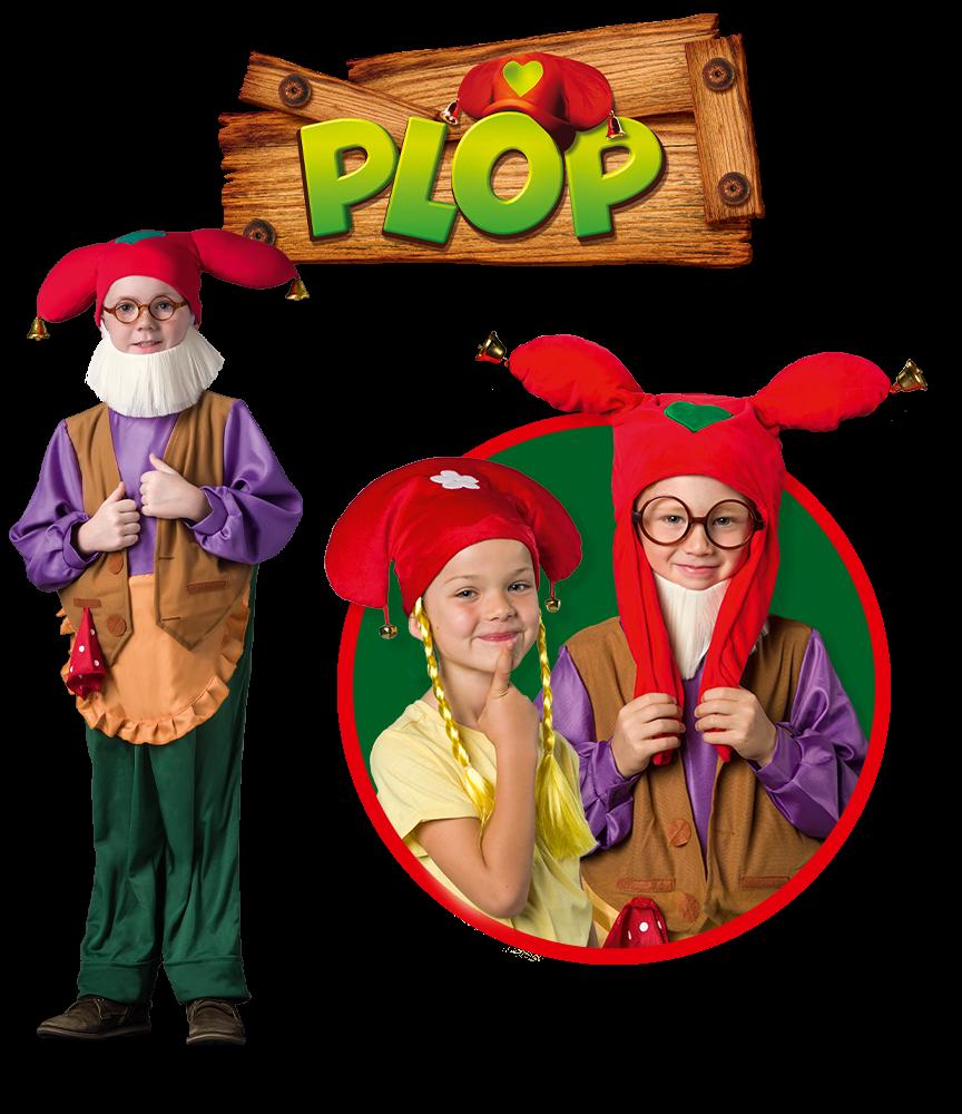 Découvre les nouveaux déguisements de Plop!