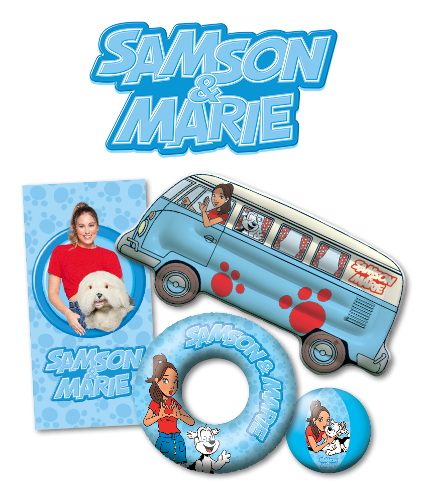 Waterpret met Samson & Marie