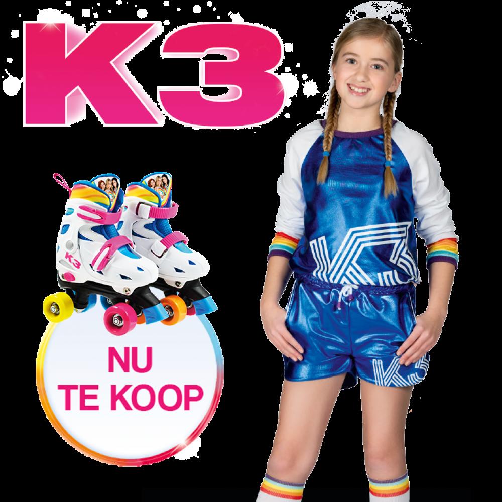 Rol de zomer in met de K3 rolschaatsen en bijhorende outfit!
