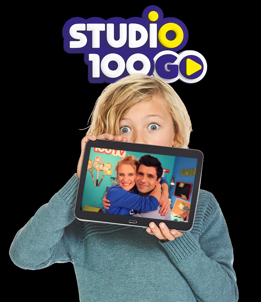 Nathalie & Romain se lancent des défis dans l'appli gratuite Studio 100