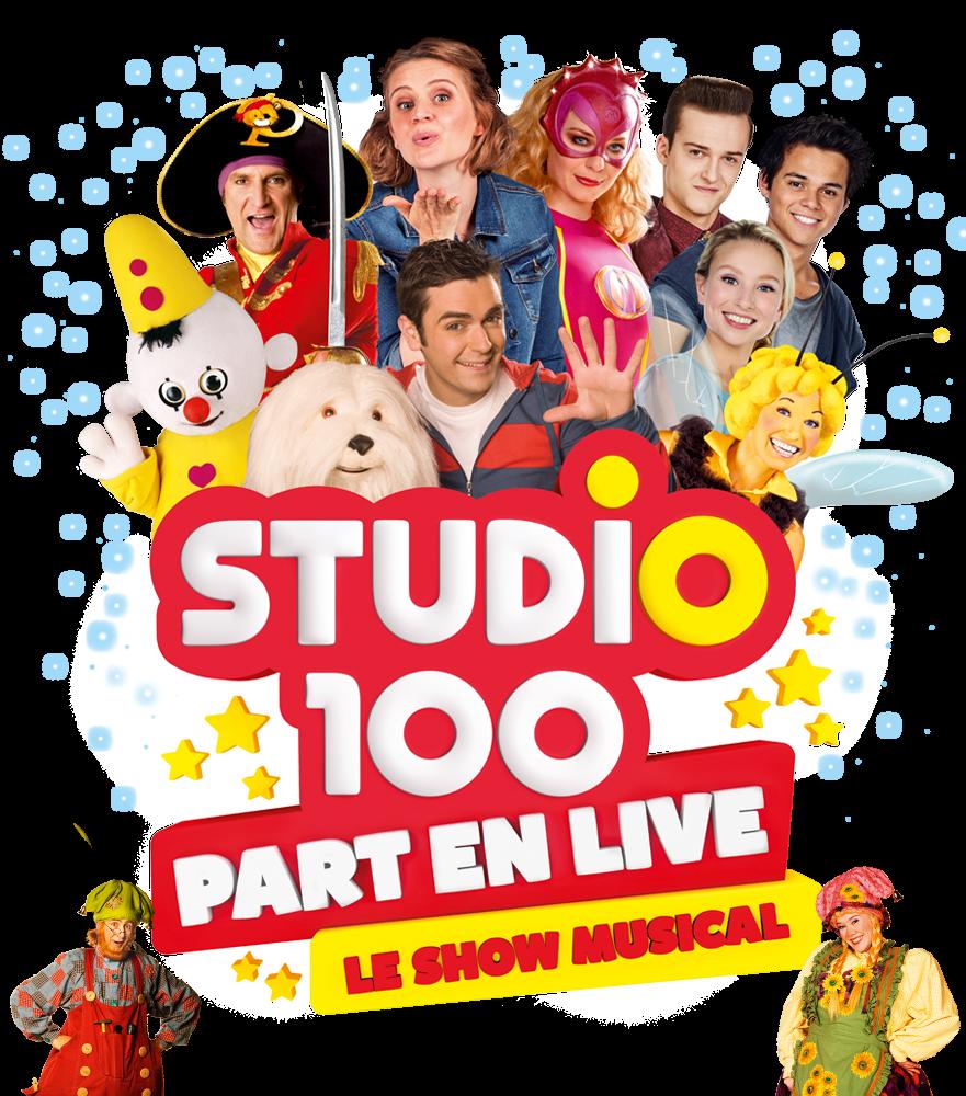 Studio 100 part en live avec vous !