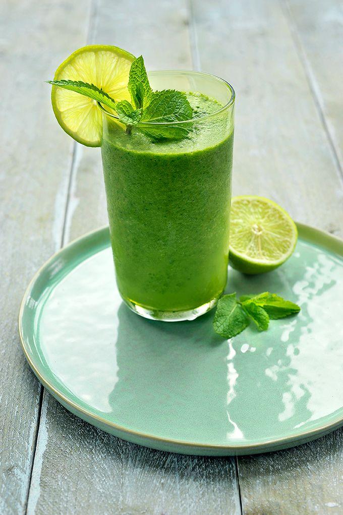 Green Velvet - groene smoothie met gember