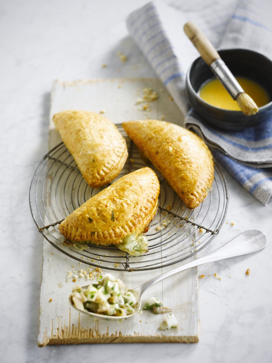 Empanada met oesterzwammen & mozzarella