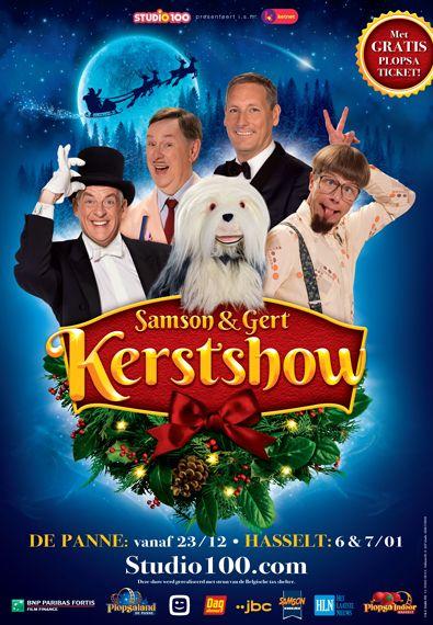 Samson & Gert Kerstshow 2017-2018