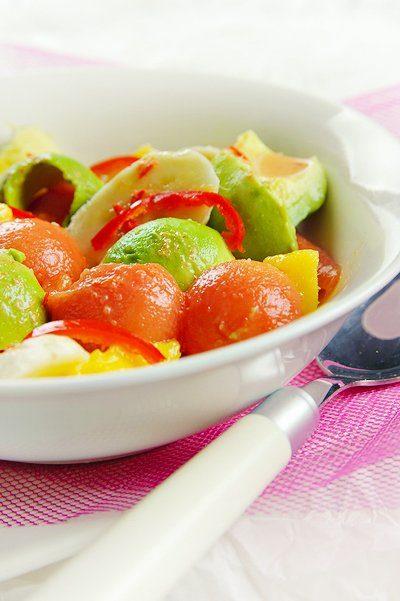 Pikante fruitsalade