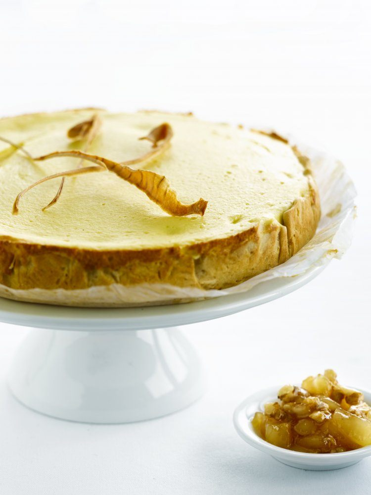 Cheesecake met pastinaak