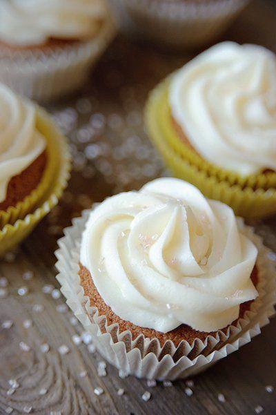 Cupcakes met drop & pepermunt