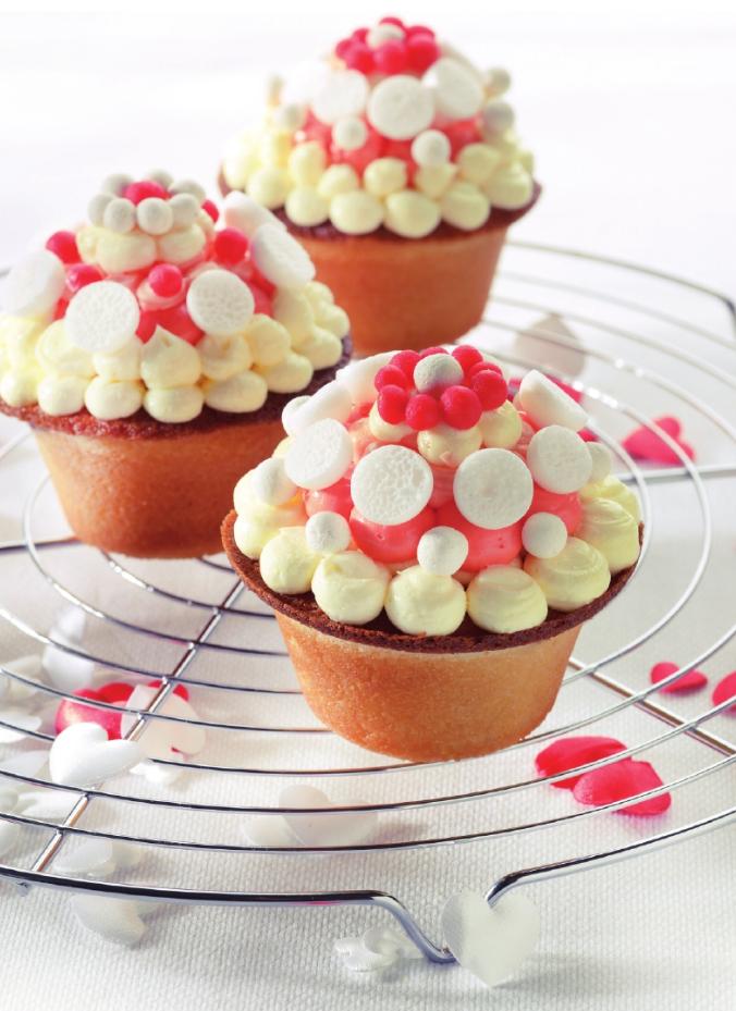 Cupcakes met suikercrème