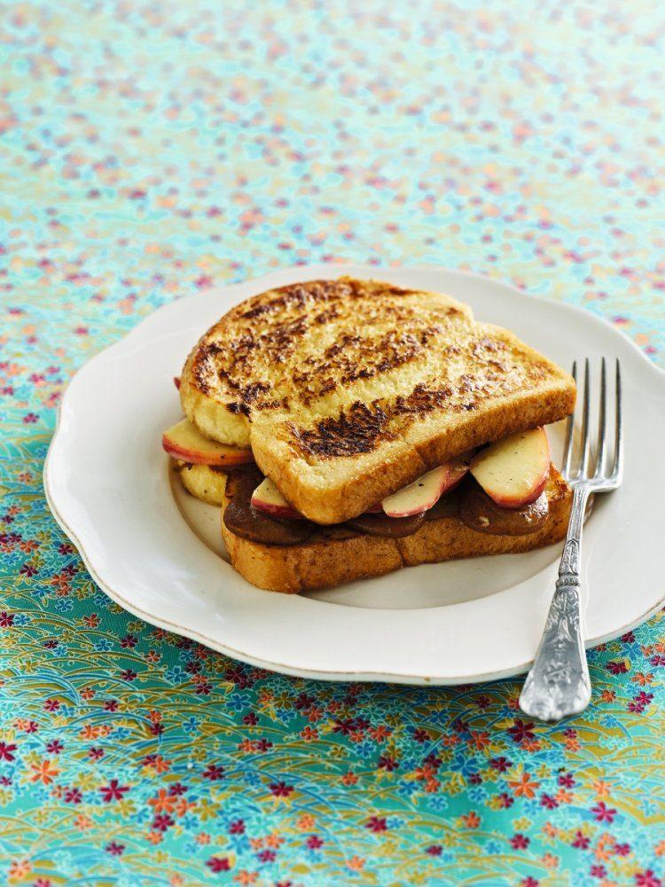 Verloren brood met appeltjes en speculaas