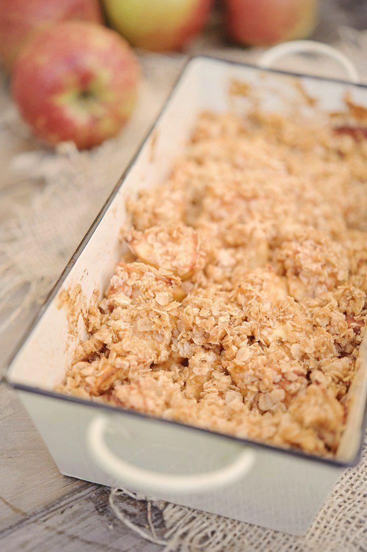 Crunchy appeltjes uit de oven