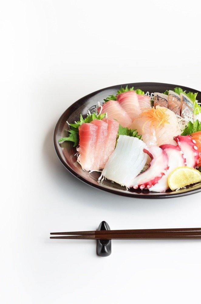 Sashimi volgens de regels van de kunst