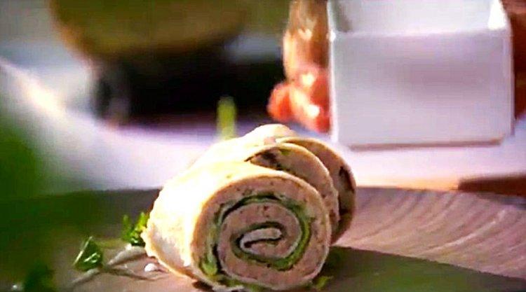 Sushi-pita met lamsgehakt