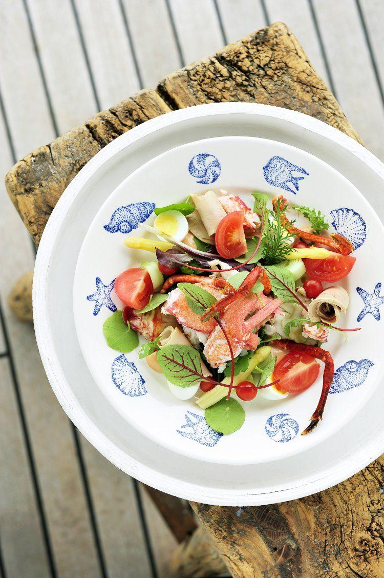 Salade van kreeft
