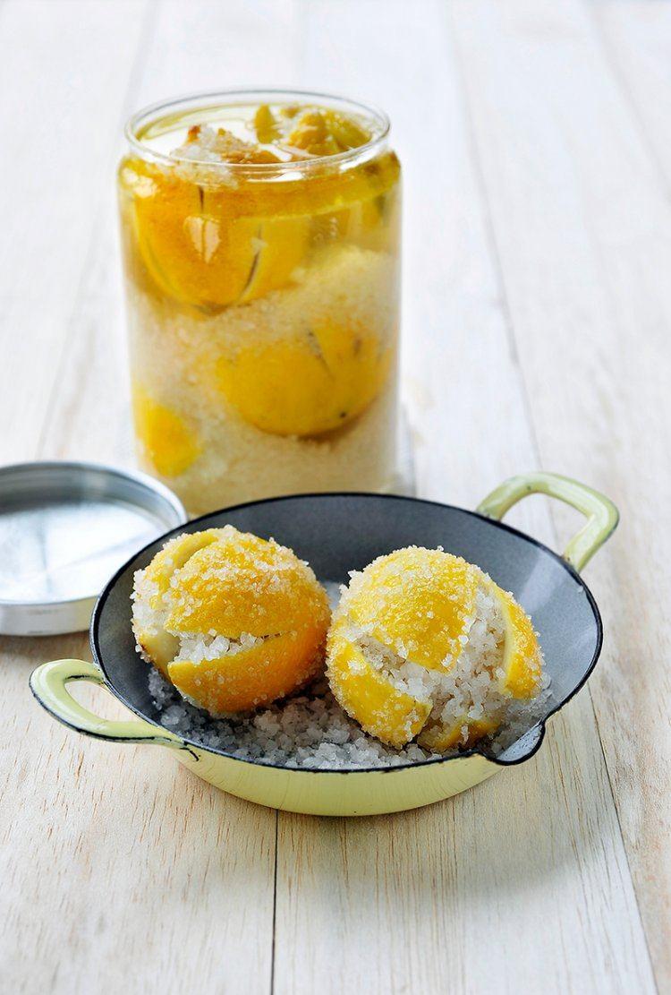 Gepekelde citroenen