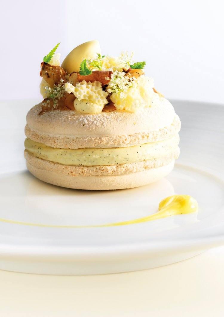 Macaron witte truffel