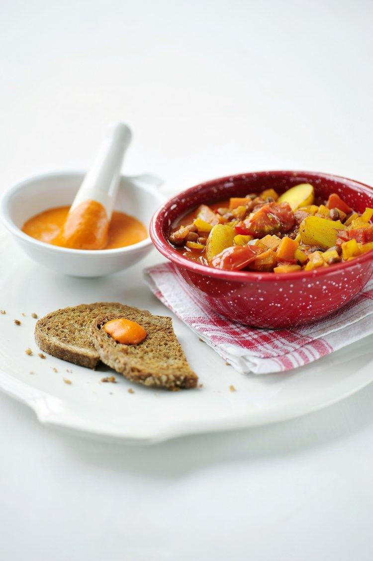 Veggie bouillabaisse
