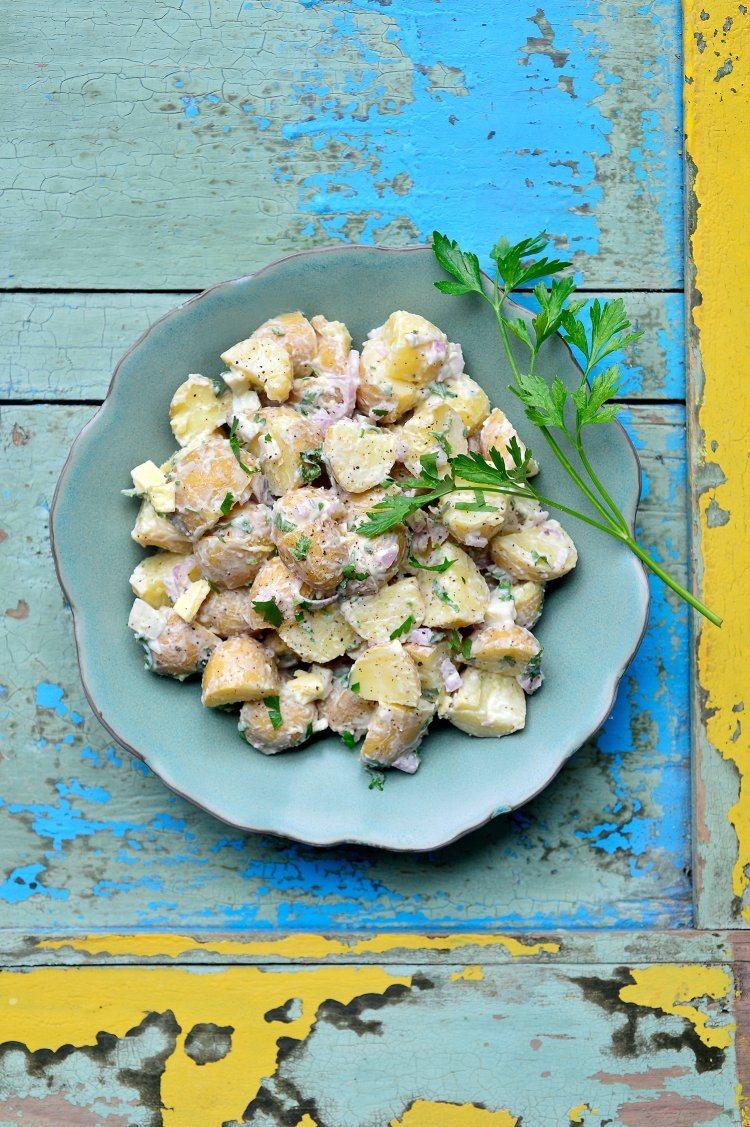 BBQ salades: aardappelsalade