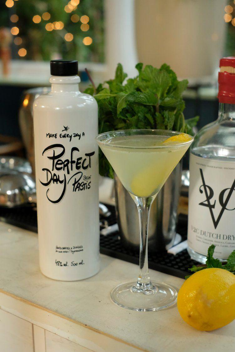 Heldere Pastis & Gin-Pastis cocktail