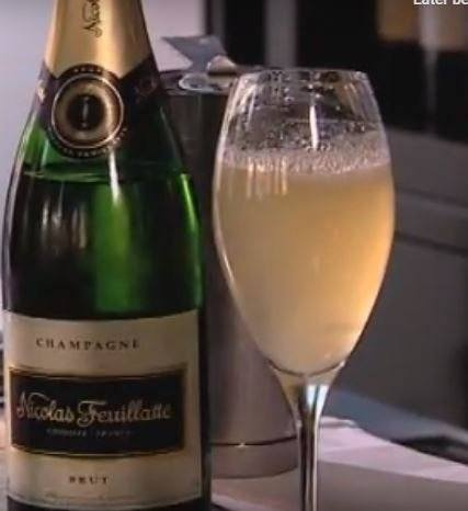 Champagnecocktail: La belle poire