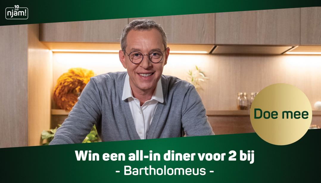 Win een all-in diner voor 2 personen bij Bartholomeus