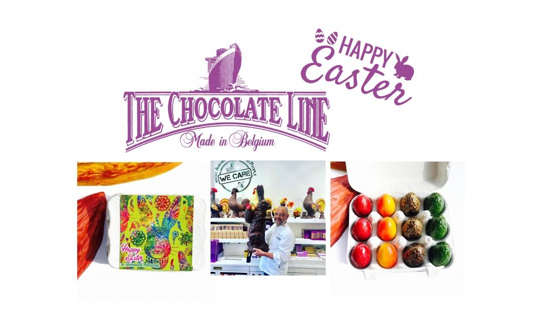 Win Chocolate Easter Eggs van The Chocolate Line
