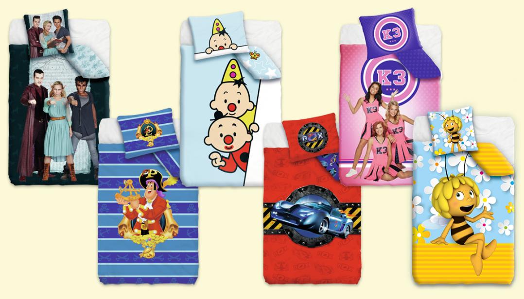 WIN als superfan een dekbedovertrek van jouw favoriete Studio 100 figuur!
