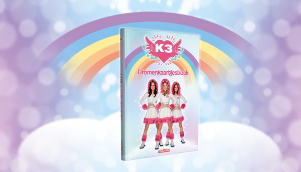 Win een K3 Dromenkaartjesboek