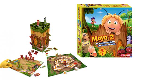 Parfait panier à cadeaux rêvés: le jeu officiel de Maya 2: les jeux du miel