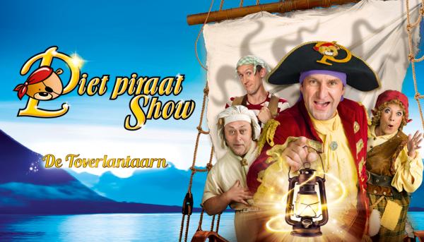 Kijk elke zaterdag en win tickets voor Piet Piraat show 'De Toverlantaarn'
