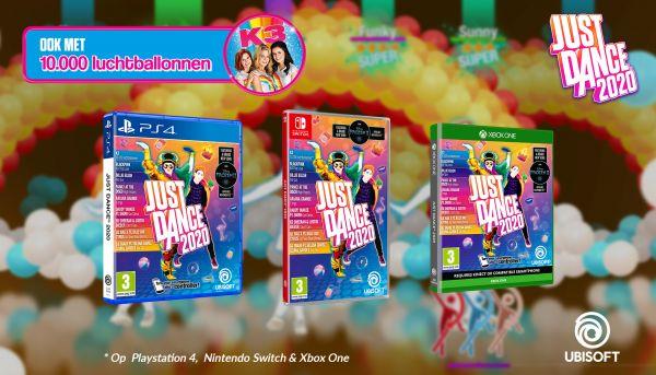 Win 'Just Dance 2020' met 10.000 luchtballonnen
