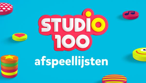 Unieke Studio 100-playlists op Spotify & Apple Music