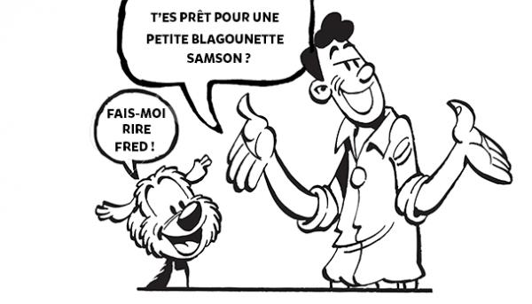 Raconte les blagues de Fred et Samson à la maison (partie 2)