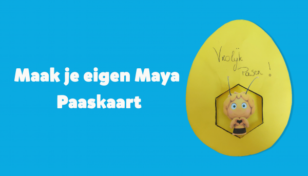 Maak nog snel een eigen Maya paaskaart