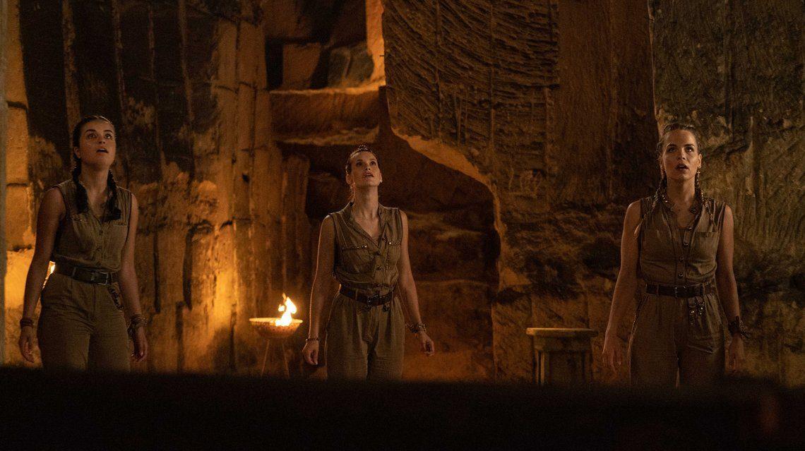 Opnames nieuwe K3-film 'Dans van de Farao' in volle gang