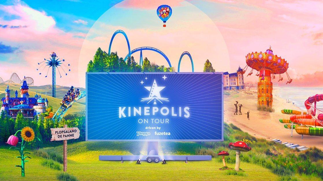 nieuwe K3-film Dans van de Farao exclusief al te zien tijdensKinepolis On Tour in Plopsaland tijdens paasvakantie