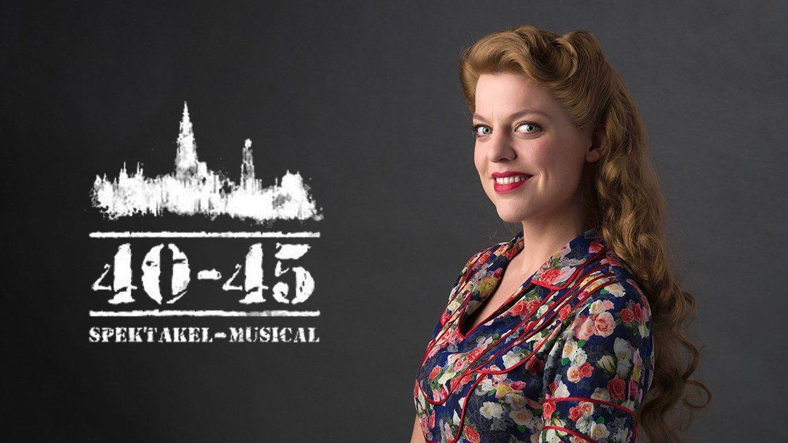 Ella Leyers krijgt hoofdrol in Spektakel-Musical 40-45!