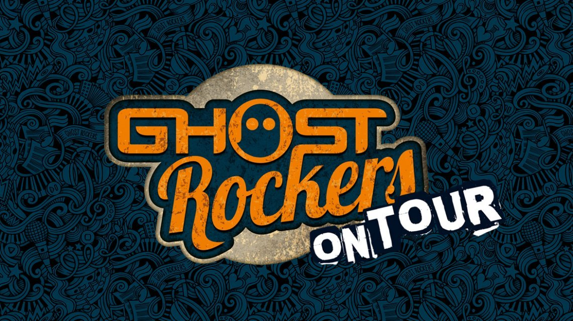De Ghost Rockers gaan op tour!