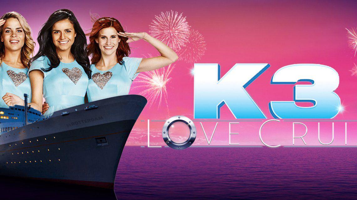 K3 Love Cruise is het het langstlopende Nr.1 album voor Hanne, Marthe en Klaasje!